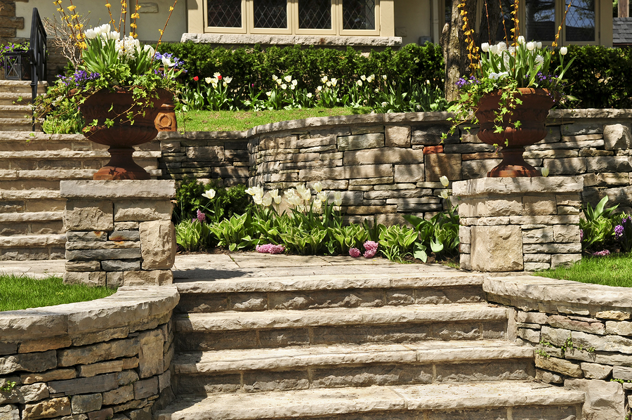 Hardscaping services in manchester augusta me ra for Landscaping rocks augusta ga